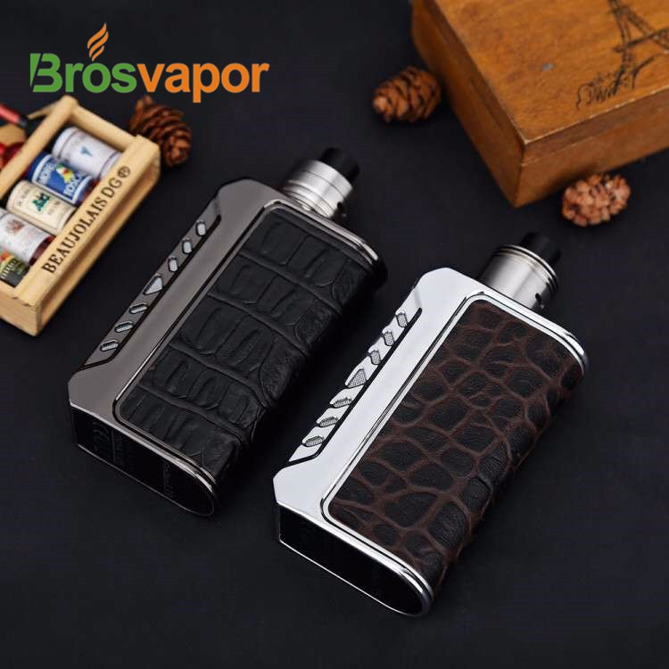 New color red Ostrich color Think Vape Finder 167 Power DNA 250 from brosvapor