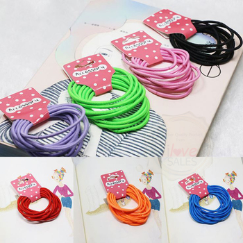 Basic Elastic Hair Ties  Hair Bands  Hair Accessories - Buy Bulk Hair  Accessories 50bd555849f