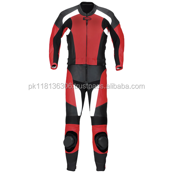 Cowhide Motorbike Leather Professional Racing Suit