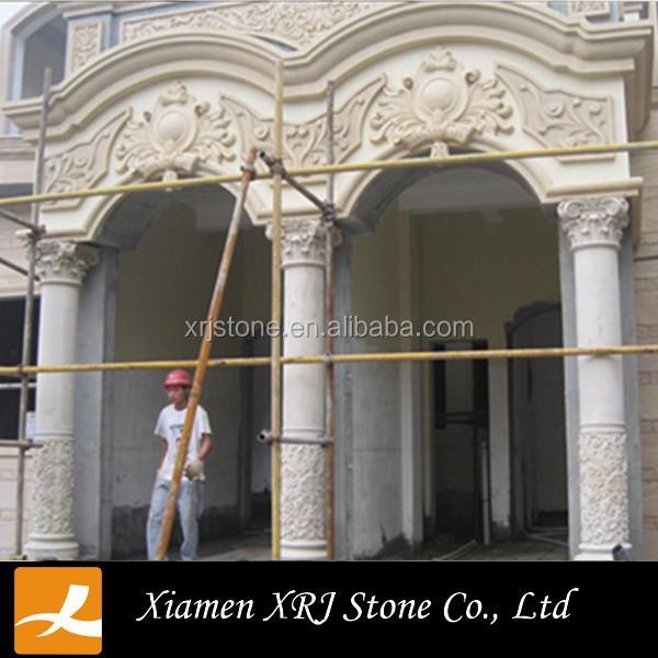 Natural Decorative Concrete Column Molds For Sale