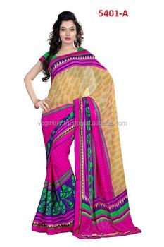 3d52533ae0 Designer Party wear digital printedSaree,Bengal Cotton Sarees   Cotton  printed sarees