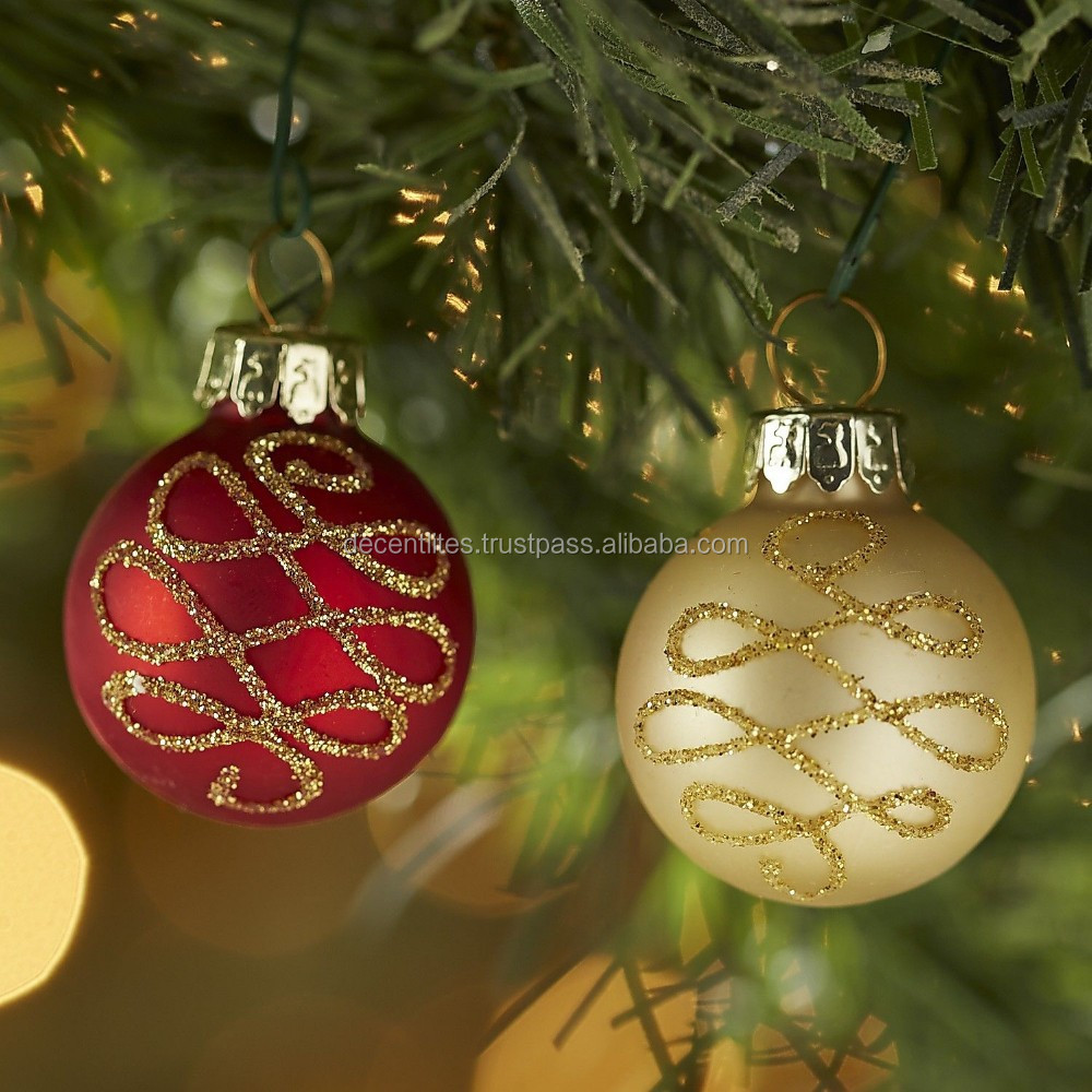 Decorative Christmas Ornaments ,Festival Party Ornaments,Christmas Accessories,Xmas Hanging Garland,Glass Ball,Glass Crafts