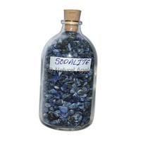 Sodalite Meditation Big Bottle Chips : Tumbled Crystals - Tumbled Stones Wholesale