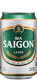Saigon larger beer in 330ml can