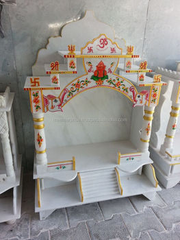 Exceptional Indoor Marble Mandir Temple For Home