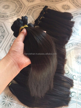 Vietnam super high quality best seller silky straight hair - 100% natuaral color, remy virgin hair
