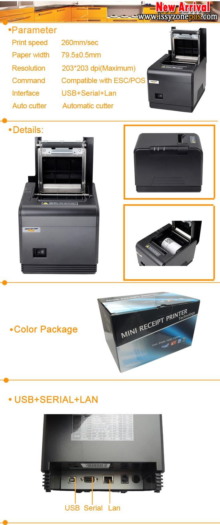 Itpp066 80mm Thermal Receipt Printer Pos - Buy Pos Receipt ...