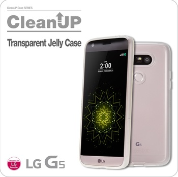 VOIA for LG G5 CleanUP Transparent Jelly case