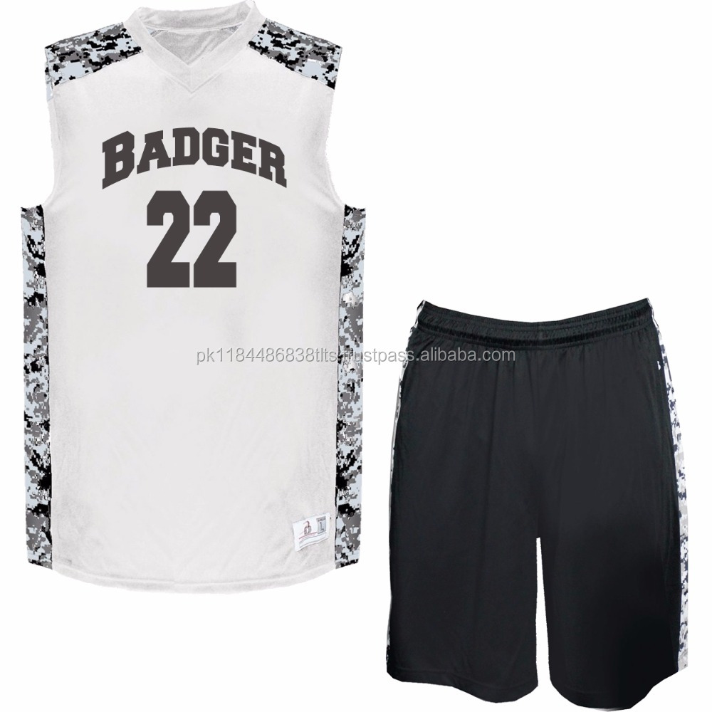 Basketball Jersey League Team Sports Top Uniform With Custom design