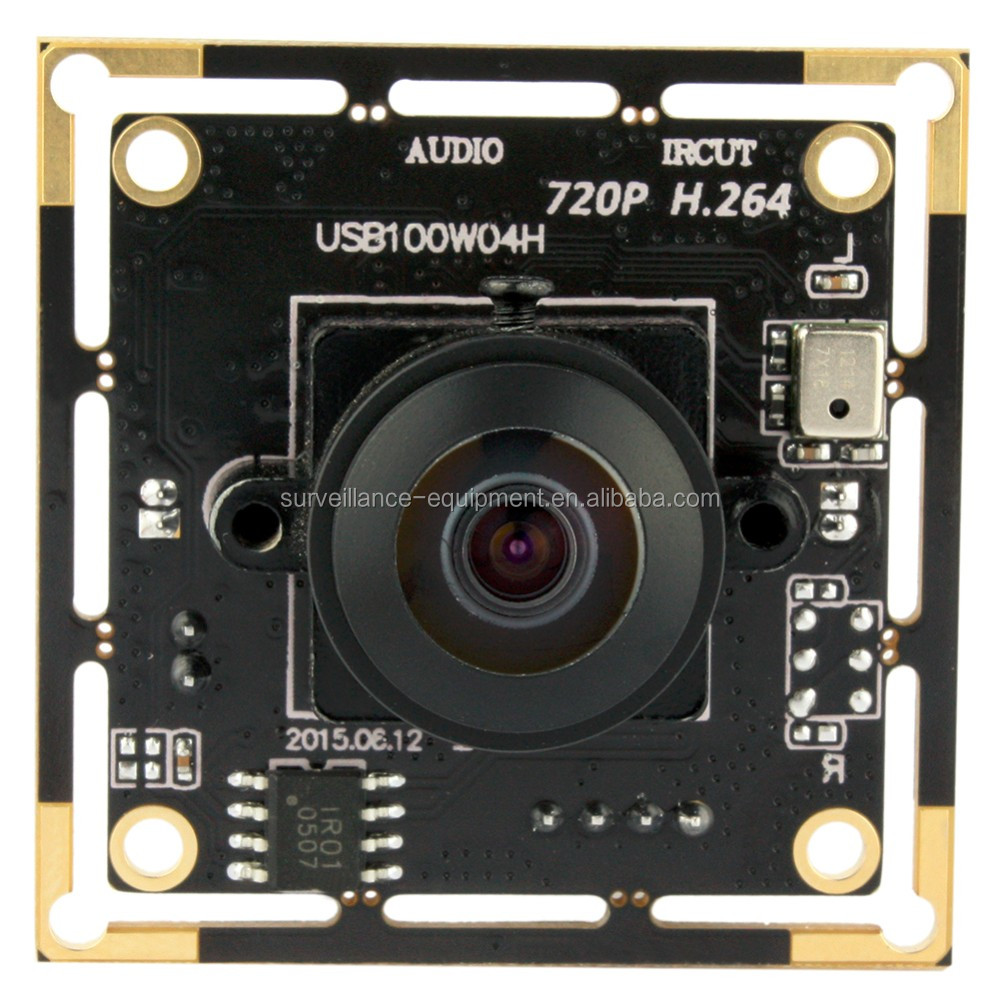 ELP online shopping H.264 ov9712 infrared 1mp hd sdi digital camera circuit board with audio function