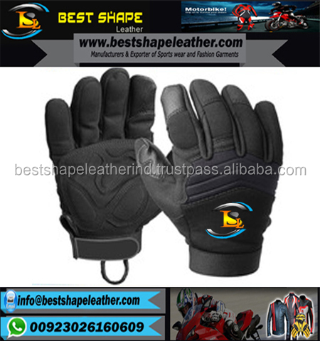 Tactical Neoprene Police Search Gloves, Patrolling Gloves, Neoprene Specialist Shooting Police Frisking Glove