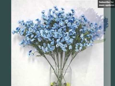Get Quotations Blue Flowers Artificial Picture Ideas For Wedding Romance