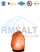 Himalayan Natural Rock Salt Lamp 4~6