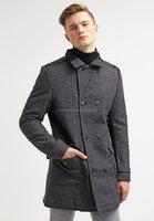 Classic Textured Long Coat