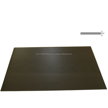 Rhino Black Corrugated Rubber Cl 1