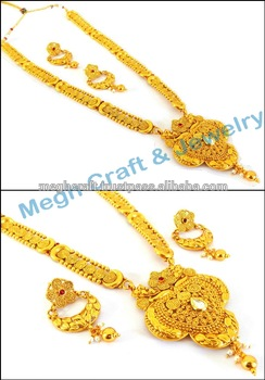 South indian gold plated Rani haar set / One Gram gold plated Jewellery / South Indian  sc 1 st  Alibaba & South Indian Gold Plated Rani Haar Set / One Gram Gold Plated ...