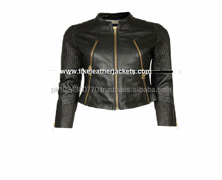 Best Black Leather Jacket Leather Tight Genuine Leather Jackets Women 2015