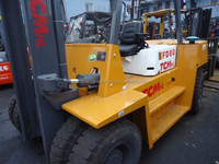 TCM Forklift FD80,Used TCM 8 Ton Forklift For Sale