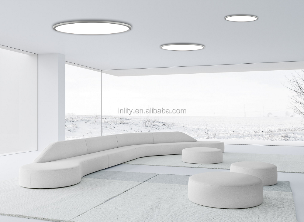 1200mm 110W LED Round Panel Light led panel 60x60 Mitsubishi LGP 6mm thickness 5 years warranty
