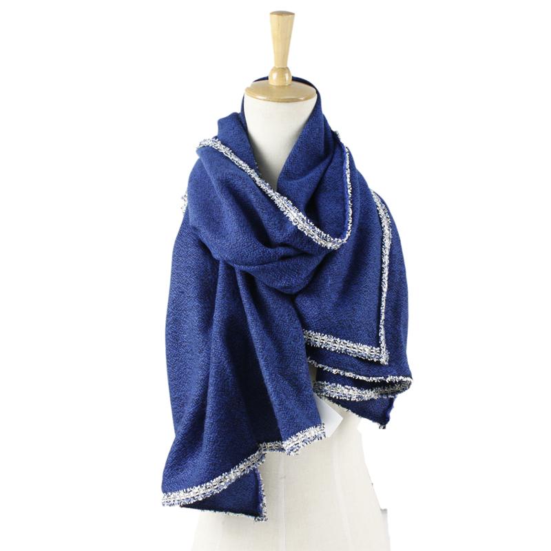 a1aa985b7122 New design Fashion Solid Color 100% acrylic pashmina Warm China Winter  lurex Scarf