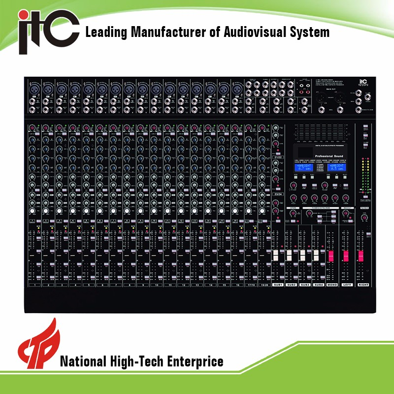 Upscale 21 Kinds Effect Professional Power Mini Digital DSP Audio Mixer