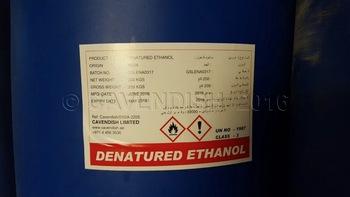ethanol denature