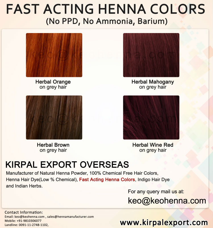 2018 New Henna Fast Acting Henna Hair Colors Buy Henna Hair Colors