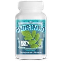 Best Selling Herbal Nutritional Supplement 600mg Moringa Oleifera