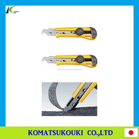 "Popular cutter knife ""Hook L"" with Solingen Germany-made cutter blade"