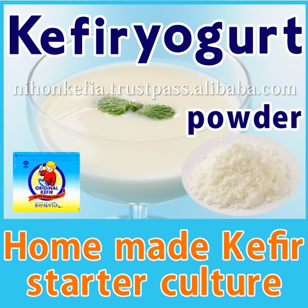 Nutritious ( kefir original starter culture ) home made yogurt with lactic acid + yeast ,l made in Japan