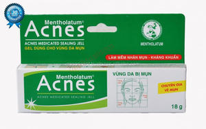 Acnes-Rohto Medical Cream 18g/ Rohto Face Cream
