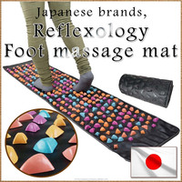 Effective and Simple blood circulation legging reflexology mat for health care , small lot order available