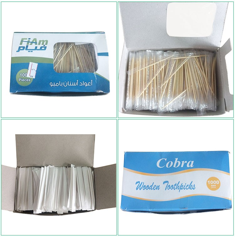 High quality 400pcs/jar bamboo fancy toothpicks