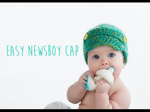 Knit Newsboy Hat Pattern Baby Free