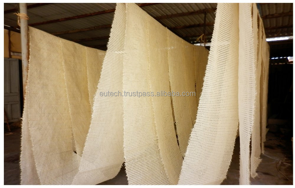 Bleached Rattan cane webbing 1/2 inch mesh for furniture