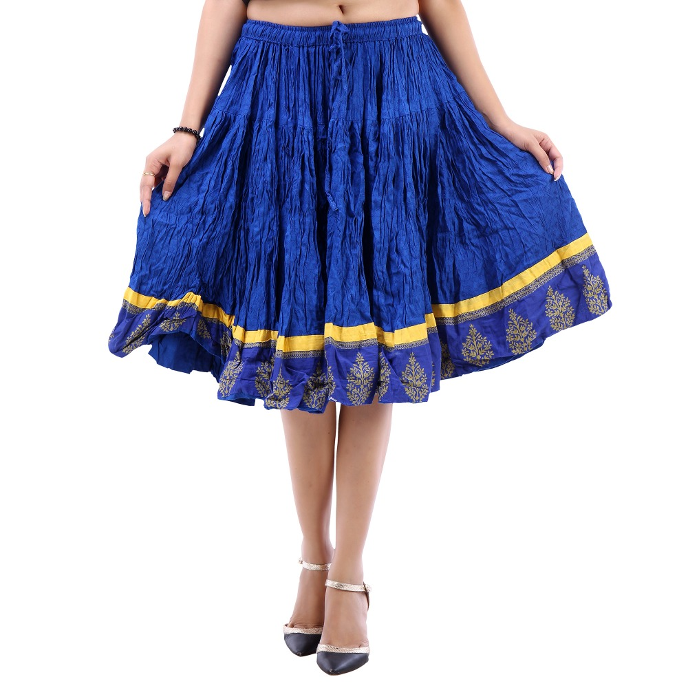 Vastra Vinod Women's Casual Wear Gorgeous Cotton Skirt