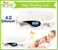 Baby Weighing Scale, Bluetooth Weight Scale For Baby, including Length Measuring, Shock Proof Function Baby Scale, SIFBSCAL-6.1