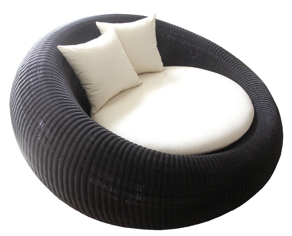Thailand Round Black Modern Synthetic Rattan Wicker Love Chair   Buy Love  Chair,Rattan Chair,Modern Chair Product On Alibaba.com