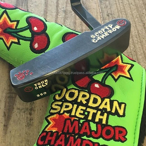Scotty Cameron putters golf tool with brushed black finish