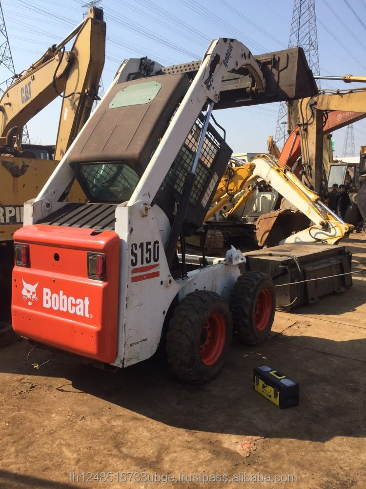 used American Mini Wheel Loader S150 in good condition for Sale
