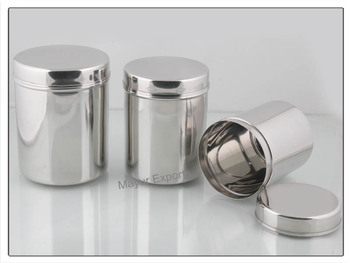 Stainless Steel Canister - Buy Stainless Steel Tea Canisters,Stainless  Steel Kitchen Canister Sets,Stainless Steel Canister Sets Product on ...