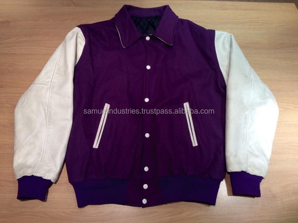 Supreme Satin Jacket College Baseball Letterman Varsity Jackets