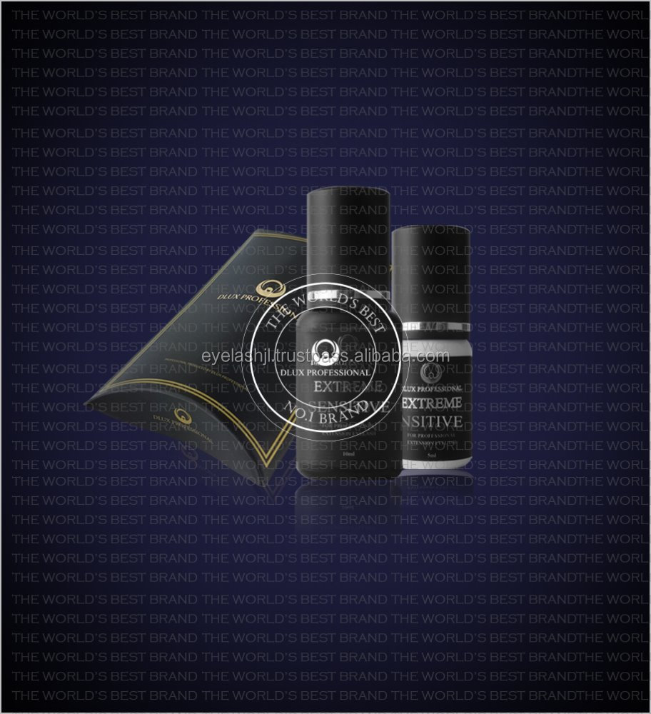 DLUX PROFESSIONAL EXTREME SENSITIVE GLUE / 10ml / 5ml / The world's best quality Korea Extension eyelash