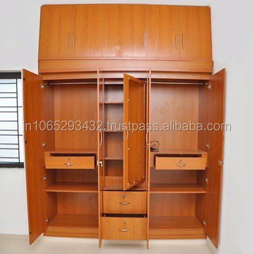 Bedroom Designs India: Buy Wood Almirah Design,Wood Almirah