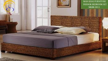 Slaapkamer Meubels Set : Luxe indoor waterhyacint meubels koninklijke slaapkamer set