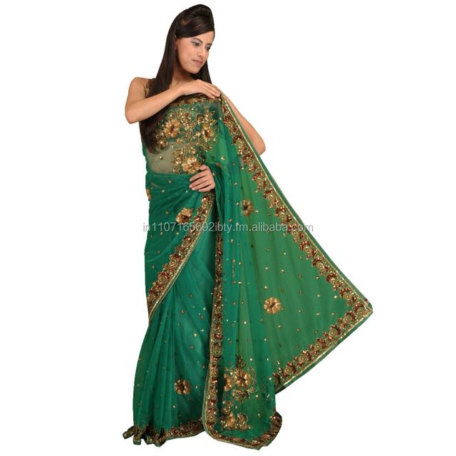 Werbung blau, grün sari, blau, grün sari Kaufen Sie ...