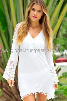 4dd4a85596 2015 Stylish And Plain White Beach Kaftan for Women / Beautiful Plain Kaftan  / Free Size