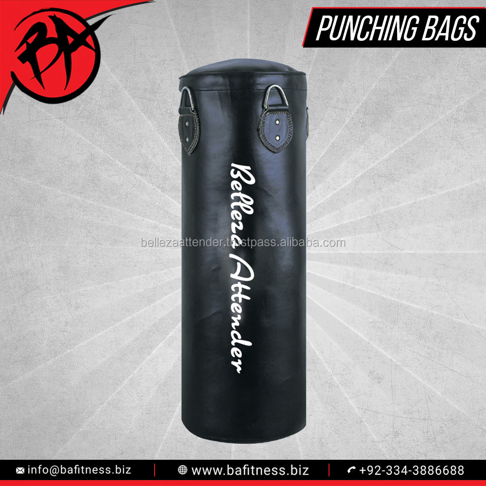 Punching Bag Filled Wall Bracket Boxing Training Punch Bags Heavy Duty Kick Muay Thai Karate Mma