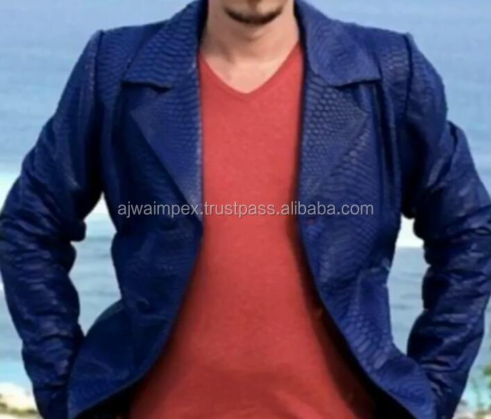 Echten Schlange Lederjacke,Schlange Mantel,Hohe Qualität Schlange Jacke Mantel Buy Reine Lederjacke Product on