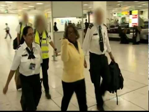 Customs UK Gatwick Airport) - The Gangsta Granny Drug Smuggler